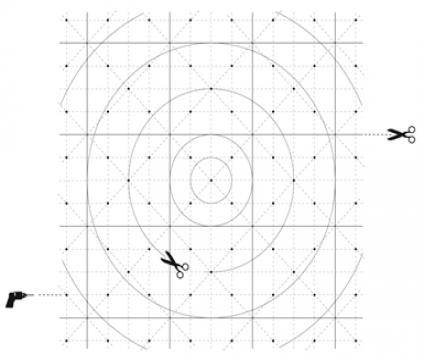 Exemple de grille fractale