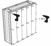Eléments de construction peuvent être assemblés et désassemblés